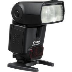 My Canon 430 EX II Speedlite flash