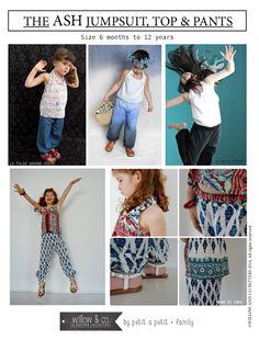 Petit a Petit SHOP: ASH Jumpsuit, Pants & Top