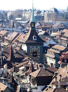 Bern roofs - Bern, Switzerland