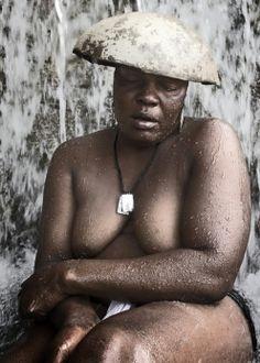 Gorgeous, woman in Haiti
