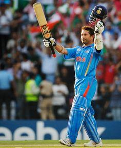 Sachin Tendulkar scores his 100th Century