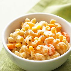 Mix frozen veggies into mac and cheese to give even the pickiest eaters the nutrition they need: http://www.bhg.com/recipes/vegetable/10-surprising-things-to-do-with-frozen-vegetables/?socsrc=bhgpin080214trickpickyeaters&page=10