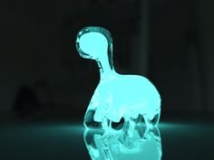 The Dino Pet: A Living, Bioluminescent Pet