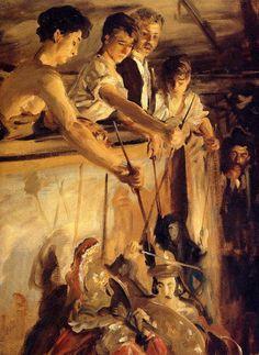Marionettes, 1903 ~ by John Singer Sargent (1856-1925)