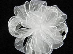 White Wedding/ Pew Bows set of 10 by creativelycarole on Etsy, $90.00