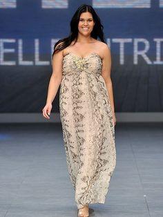 """Plus size fashion"" i.e. normal size fashion @ Sydney Fashion Festival - nice"