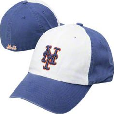 New York Mets White/Blue Panel '47 Brand Franchise Fitted Hat. <3 <3 <3 my hat !!
