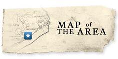 area map of North Topsail, Topsail Beach and Surf City, North Carolina