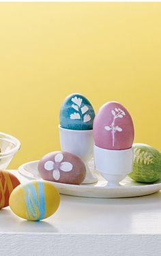 easter eggs martha stewart