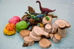 Dinosaur Playdough