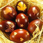 Yummy chocolate Easter eggs! Mmm...