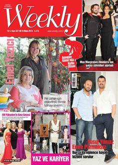 Weekly Dergisi, 8 -14 Mayıs sayısı yayında! Hemen okumak için: http://www.dijimecmua.com/weekly/
