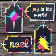 DIY Washi Tape Christmas Tags