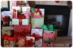 Here's a tutorial for how to wrap a gift!