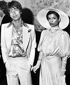 Mick and Bianca Jagger Photography by Eric Boman, March 1974