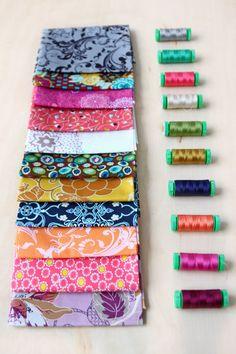 Bundle of Joy Giveaway. Aurifil mini thread. | #Aurifil #thread #mini #spools