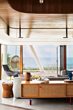 Sustainable coastal home - Daily Dream Decor - what a view!!