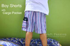 Boys shorts With Cargo Pocket