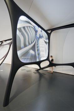 Chanel Mobile Art Pavilion / Zaha Hadid Architects