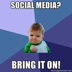 Success Kid - Social Media