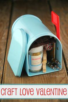 Craft Love Valentine In A Box