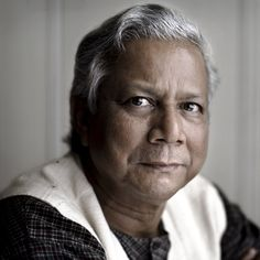 Muhammad Yunus, Nobel Peace Prize winner who pioneered Microcredit Banking. http://www.muhammadyunus.org