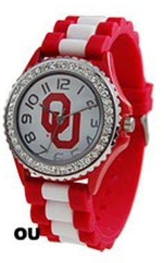 Oklahoma University Collegiate Silicone Watch