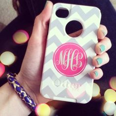 Monogram Otterbox a Must have for my iphone :)