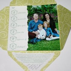 christmas card - starts with H!