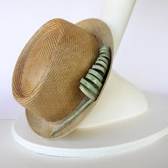 Silvia Serra Straw hat Madebyhand in Tuscany with Love! <3 #hat #straw #cappello #paglia #modista #modisteria #summerhat #summer #natural #madebyhand #handmade #tuscany #ladies
