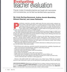 Phi Delta Kappan Teacher Evals  Illinois Alliance of Administrators of Special Education Fall Conference handout 9/12. Main Site http://www.iaase.org/static.asp?path=3938  Pinned by SOS Inc. Resources http://pinterest.com/sostherapy