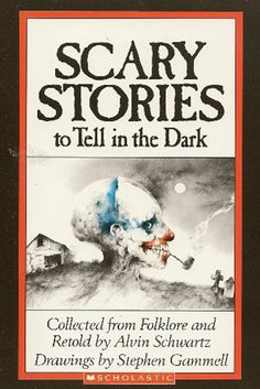 Scary Stories to Tell in the Dark. Oh man, this brings back such awesome memories of me and all my friends in elementary school sitting in the library during recess and lunch reading these stories to each other.