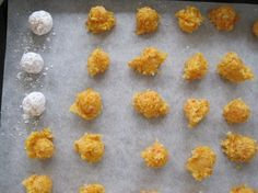Bite-Size Powdered Apricot Cookies