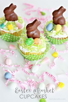 Easter Basket Cupcak