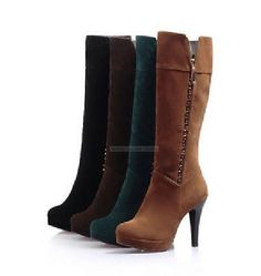 Knee-high boots in a variety of colors! (perfect for upcoming holidays!) #eBayGuides