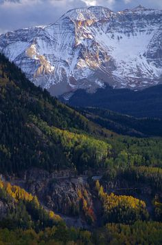 Fall at Ophir, Colorado; photo by .Jonathan Auerbach