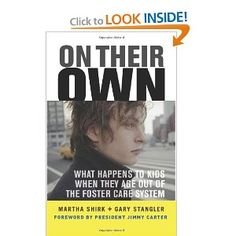 """This really bothers me... and has for a long, long time.  We're better than this, aren't we?  // """"A great book on kids aging out of foster care with no where to go."""""""