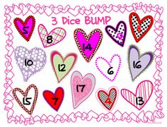 Free!!! Valentine Bump...3 dice fun!!!
