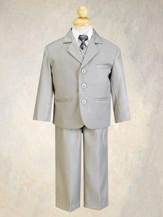 The boy's suits.