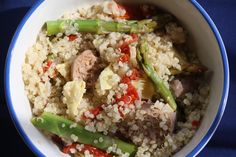 Tangy Quinoa Sausage Medley | Lauren Kelly Nutrition