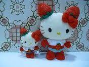 New charactor Hello kitty Ichigo-man