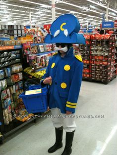 Realistic Cap'n Crunch Homemade Halloween Costume ...This website is the Pinterest of costumes