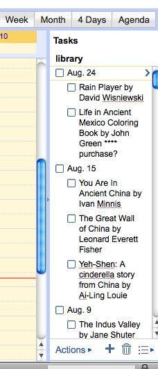 Using Google Calendar for Lesson Plans