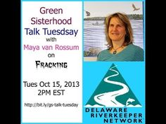 ▶ Fracking : The Environmental Harmful Effects with Maya van Rossum of the Delaware River Watch - YouTube