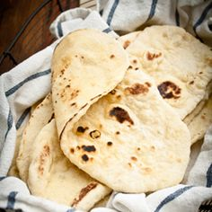 Make your own Naan bread!  #foodgawker
