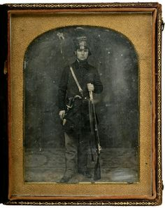 Mounted Rifleman, US Army, Mexican War