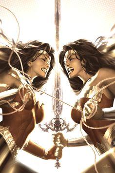 Wonder Woman by Alex Garner