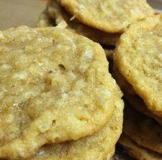 Brown Sugar Oatmeal Coconut Chewies | The Dough Will Rise Again