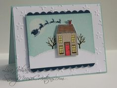 Christmas House for TTS25 by Alcojo94 - Cards and Paper Crafts at Splitcoaststampers