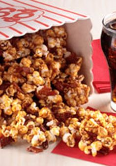 Bacon-Caramel Corn -- Make movie night magical with this tasty popcorn recipe that the whole family is sure to enjoy.